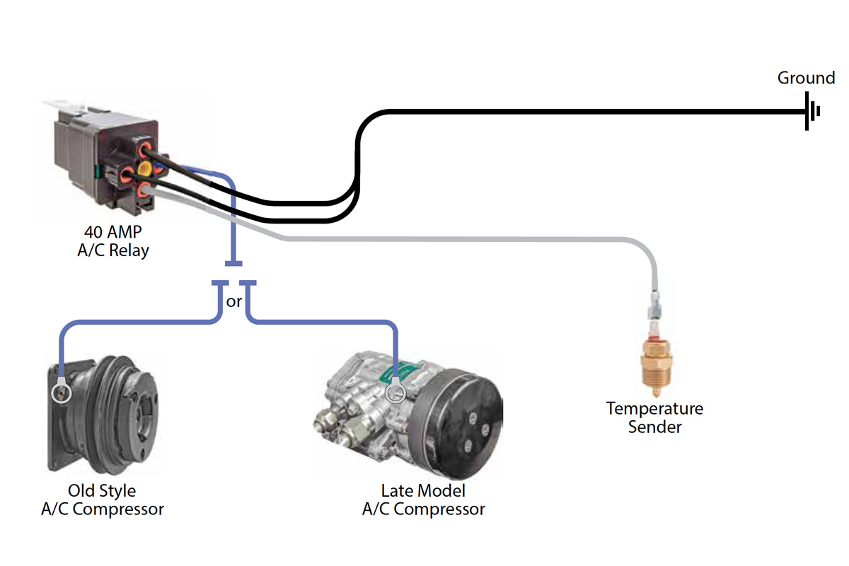 12 volt horn relay wiring diagram sequential of atm compressor trusted