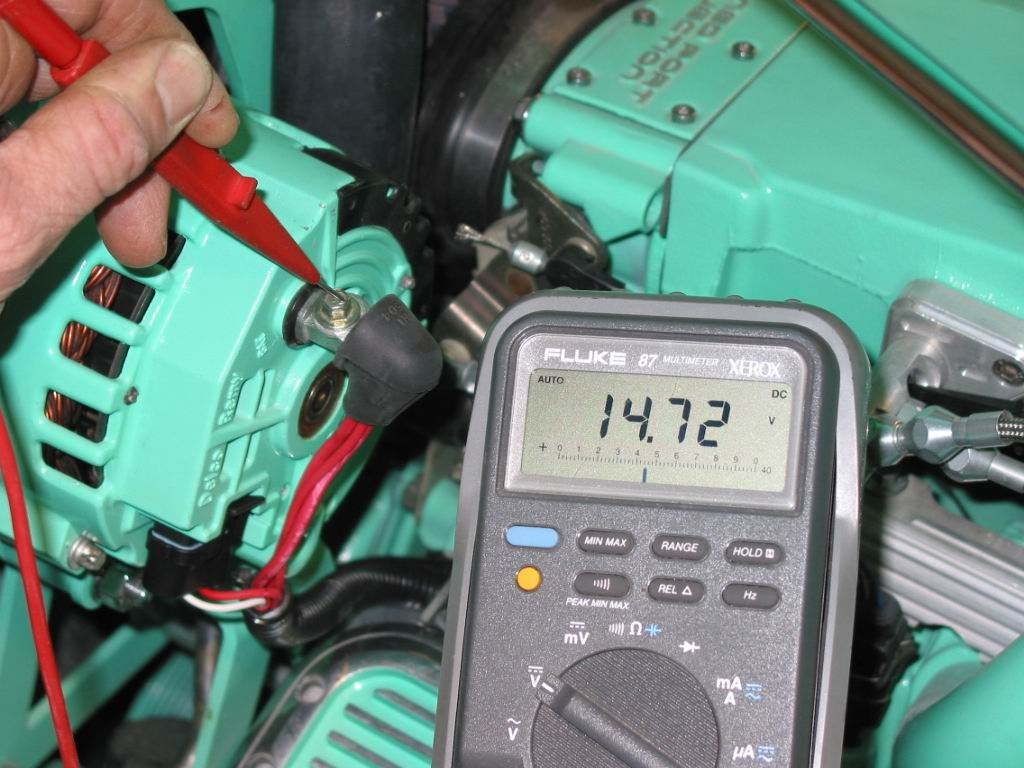 hight resolution of the output of an alternator is rated at two points idle and maximum rpm the only time an alternator will output
