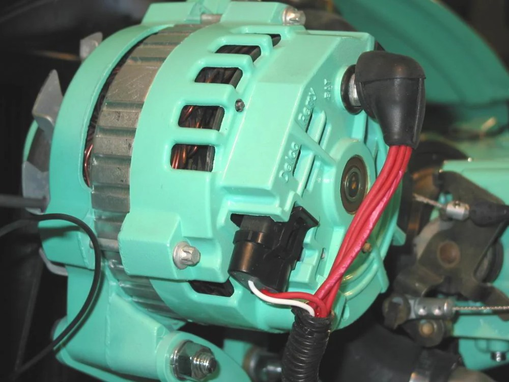 medium resolution of striking a compromise between functionality and looks is a battle that can arise when it comes to choosing an alternator while the 1 wire units offer clean