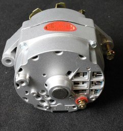 powermaster s early style delco alternators will work as a one wire or oem style alternator  [ 1200 x 800 Pixel ]