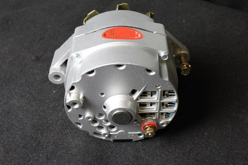 medium resolution of powermaster s early style delco alternators will work as a one wire or oem style alternator