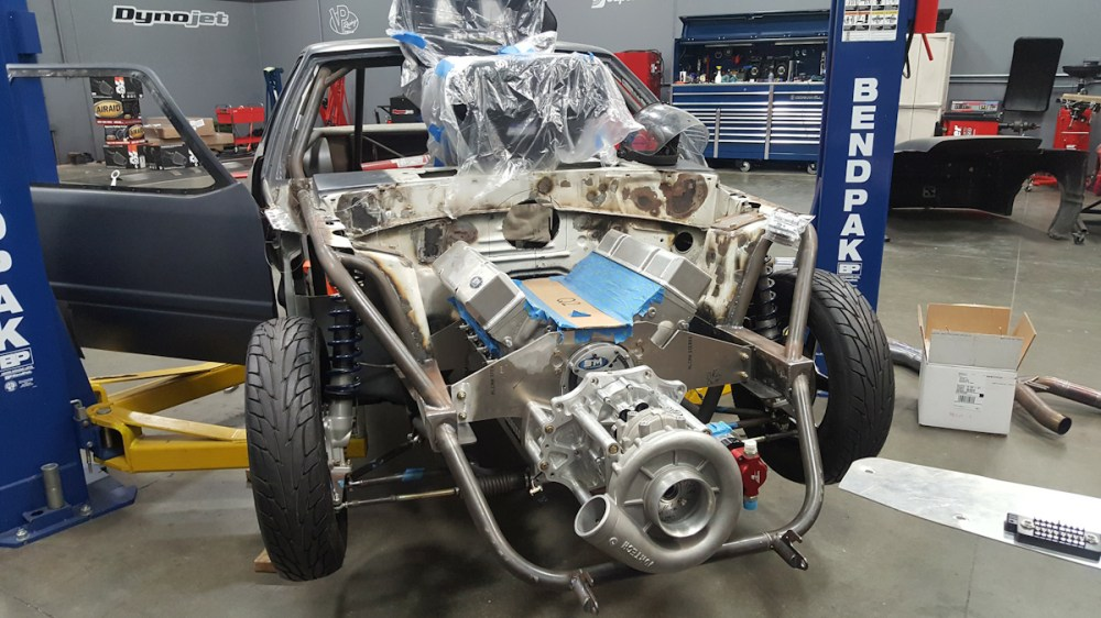 medium resolution of our vortech supercharged steve morris built small block chevy bolted into our fox body it was time to get it wired up with a racepak smartwire