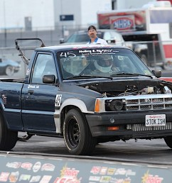 jeff competed in just about everything there was at ls fest west including the burnout competition he thrashed this little truck all weekend and never had  [ 1200 x 800 Pixel ]
