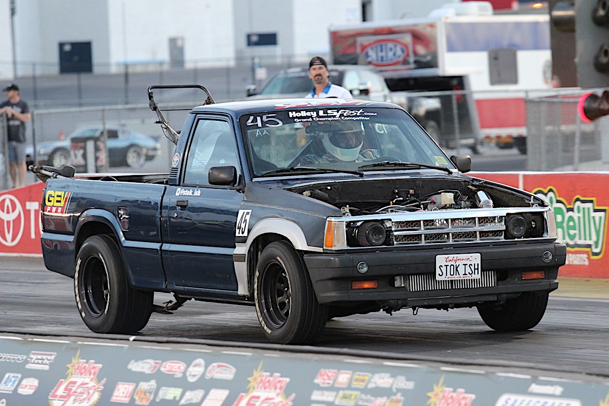 hight resolution of jeff competed in just about everything there was at ls fest west including the burnout competition he thrashed this little truck all weekend and never had