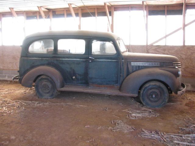 A very rare 1947 Chevy Suburban.