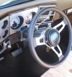 upgrading to a flaming river tilt style steering column not only improves your classic s looks but can also give the driver more sitting room  [ 1800 x 1200 Pixel ]