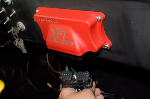 small resolution of fast includes a large two inch grommet to seal and protect all harness wiring passing between the engine bay and interior the ecu was mounted on the