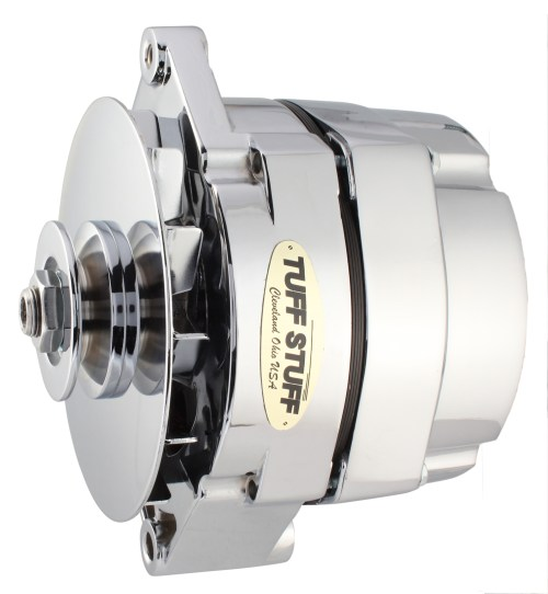 small resolution of tuff stuff was the first company to offer a one wire alternator the rumor at the time was that one wire alternators would overheat and leave you stranded