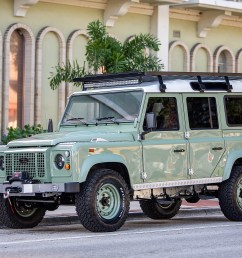 award winning custom land rover builder ecd automotive design has just unveiled specs on its latest d110 creation along with a handful of images of the  [ 3600 x 2400 Pixel ]