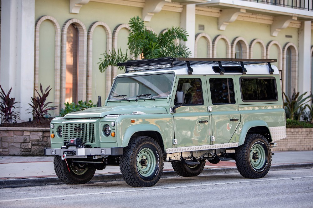 medium resolution of award winning custom land rover builder ecd automotive design has just unveiled specs on its latest d110 creation along with a handful of images of the