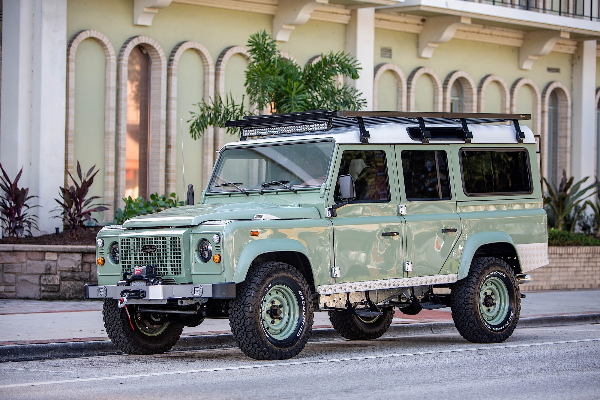 hight resolution of award winning custom land rover builder ecd automotive design has just unveiled specs on its latest d110 creation along with a handful of images of the