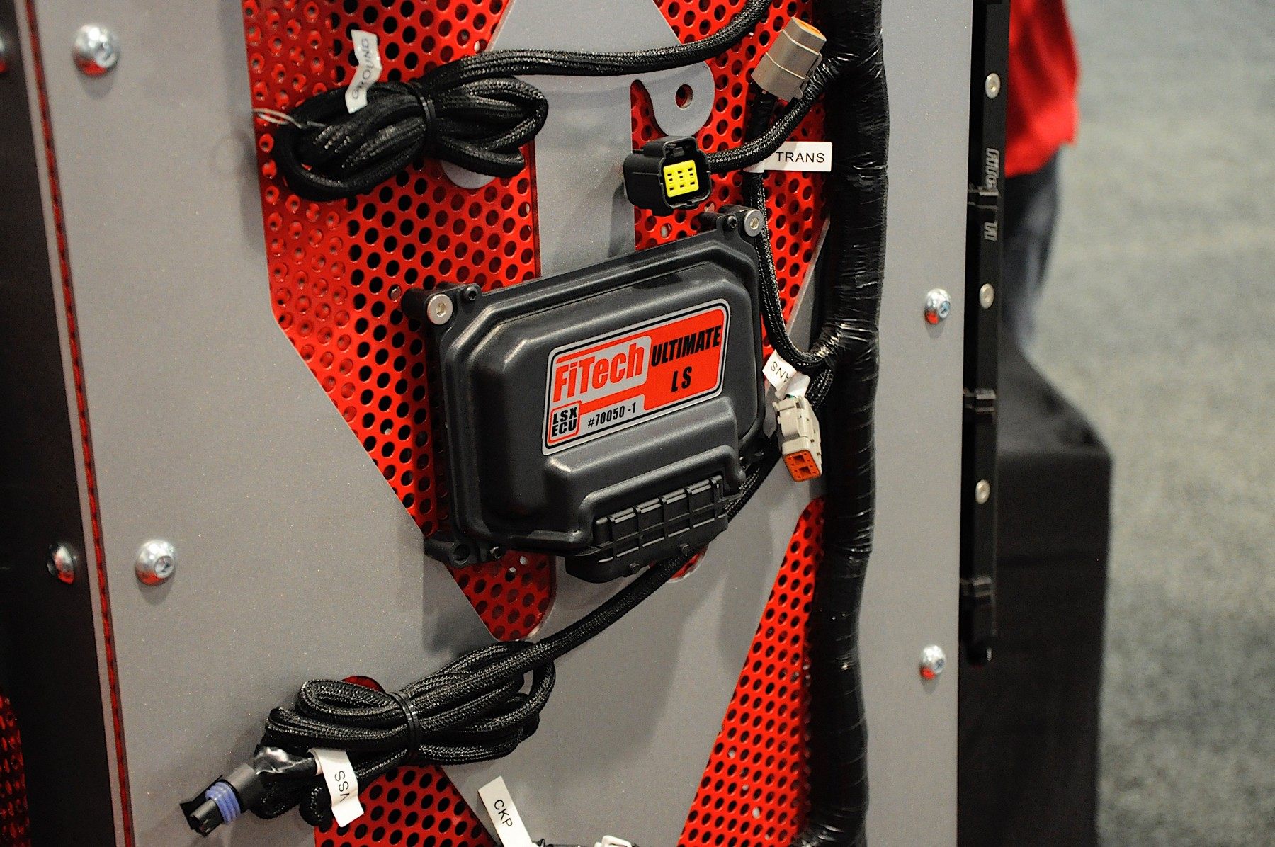 hight resolution of bryce cegielski from fitech explains just how plug and play the ultimate ls induction system really is with our wiring harness everything is provided to