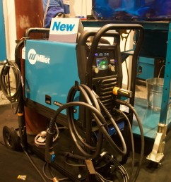 what we did was re engineer the machine and came up with this new one multimatic 220 that comes with mig stick tig dc ac it does flux core as well  [ 3600 x 2400 Pixel ]