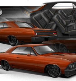combine the magic of an artist a skilled builder and an abundance of killer aftermarket parts and this old chevelle lucked out when it was plucked from  [ 1135 x 795 Pixel ]