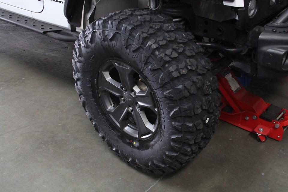 Yokohama Geolandar X-MT Tire Review with 2017 Wrangler Rubicon