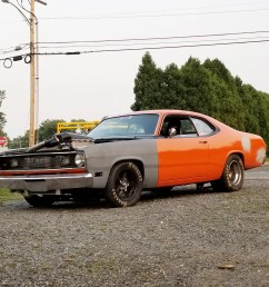 so what do people think about the lsx duster according to chris this car has caused so much chaos because it s an old mopar with an lsx powerplant  [ 2500 x 1766 Pixel ]