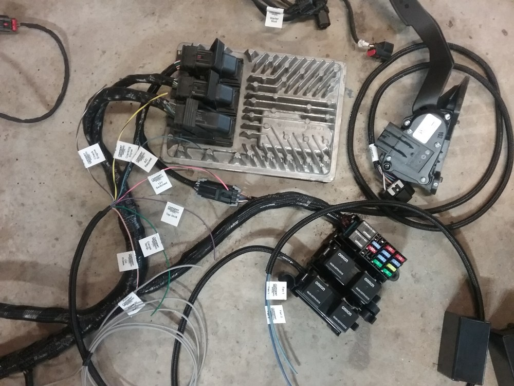 medium resolution of an engine management harness like this one from current performance wiring contains all of the necessary functions to make the engine start and run