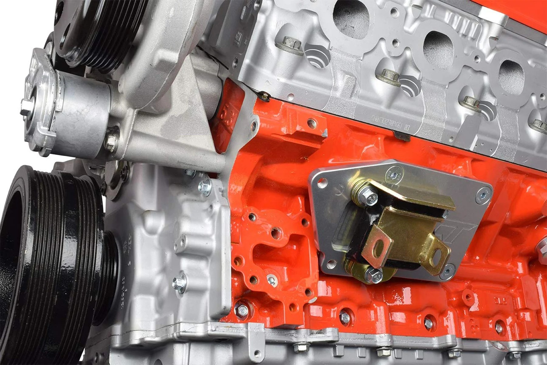 hight resolution of these brackets from ict billet allow a gen v lt series engine to be bolted into a vehicle that originally had a small block chevy engine lt engine swap