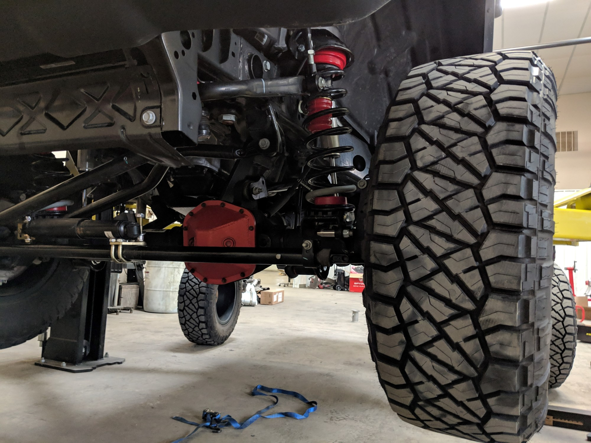 hight resolution of for jeep junkie anthony ascare the reward is that he s one of a few lucky individuals tapped by energy suspension to conduct the testing of