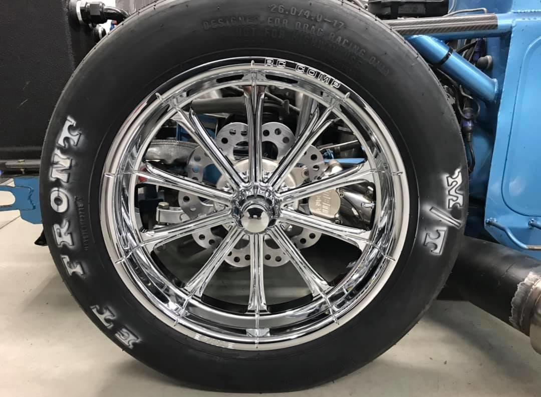 Comp Wheels Rc Motorcycle
