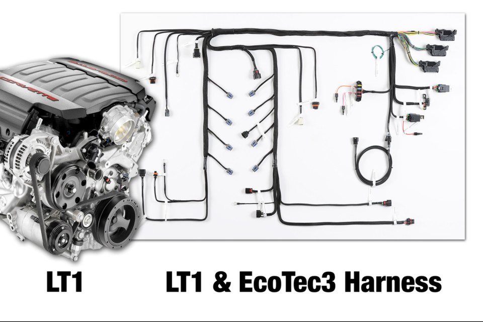 Howell Introduces LT/EcoTec3 Conversion Engine Swap Harnesses