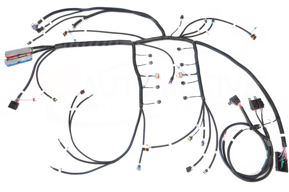BP Automotive's Plug-and-Play Direct-Fit LS Wiring Harness