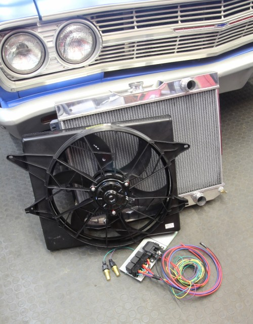 small resolution of installing a big electric fan and relays isn t difficult and doesn t have to be expensive this new mk8 fan from rockauto and three relay kit from hollister