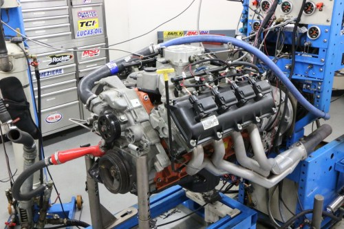 small resolution of our hemi test mule began life as a 5 7l mopar crate motor unseen are the ported 5 7l heads and comp cams beehive spring upgrade