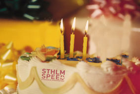 Tårta, Sthlm Speed 3 år. Montage: Jan Herrström.