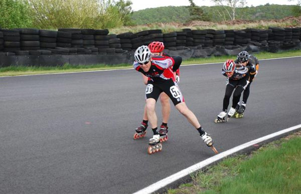 Sweden 12h Roller, Falkenberg 2009-05-09. Foto: Sanna Svensson.