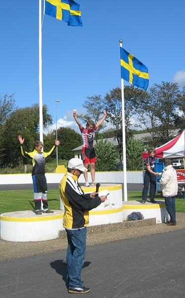 SM/RM på bana, Varberg 29-30 aug 2009. Foto: Thomas Lundqvist.