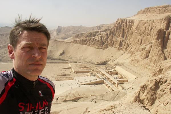 Egyptian Marathon, Luxor, 2010-02-12. Foto: Ulf Haase.