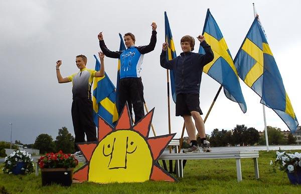 SM på bana, Karlstad 28 aug 2010. Mobilkamerafoto: Ulf Haase.