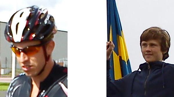 SM på bana, Karlstad 28-29 aug 2010. Mobilkamerafoton: Ulf Haase.