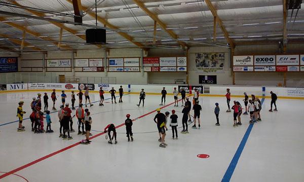 Inlineläger i Motala 15-17 april 2011. Mobilkamerafoto: Ulf Haase.