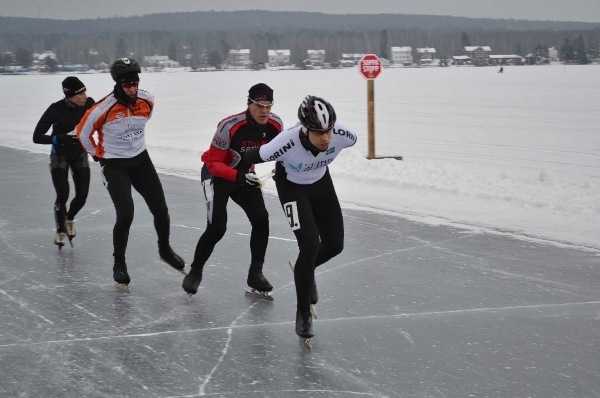 David H leder jakten på Resar. Foto: Björn Larsson.