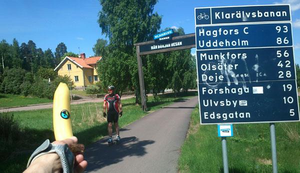2013-05-26 Klarälvsbanan. Mobilkamerafoto: Ulf Haase.