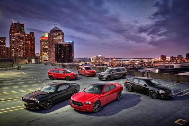 2013 Naias Dodge Expands Blacktop Edition To Complete Lineup