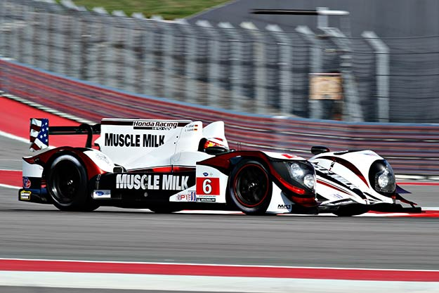 No. 6 Muscle Milk Honda HPD ARX-03c