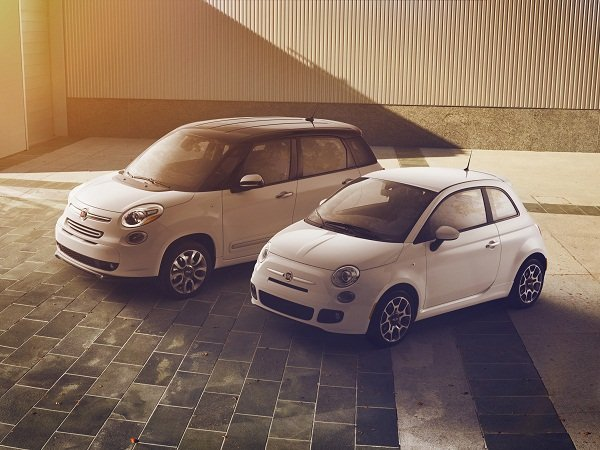 2014 Fiat 500L and 2014 Fiat 500