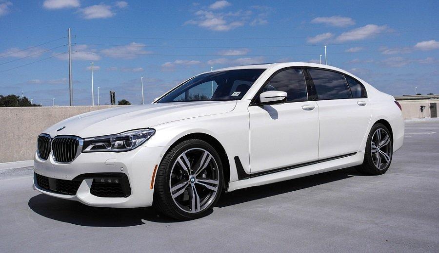 Driven 2016 BMW 750i