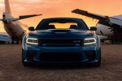 Newly designed front fascia on the 2020 Dodge Charger SRT Hellcat Widebody includes a new mail slot grille opening, providing the most direct route for cool air to travel into the radiator, to maintain ideal operating temperature even in the hottest conditions
