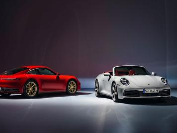 2020 Porsche 911 Carrera Coupé and 911 Carrera Cabriolet