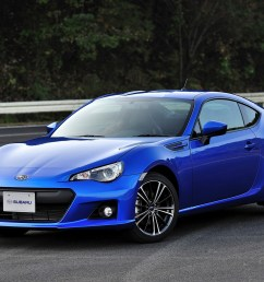 subaru brz is a rear wheel drive sports car featuring the horizontally opposed boxer engine it was developed as a joint project between subaru and toyota  [ 1600 x 1065 Pixel ]