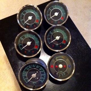Lot of Replica Gauges  SpeedsterOwnerscom  356