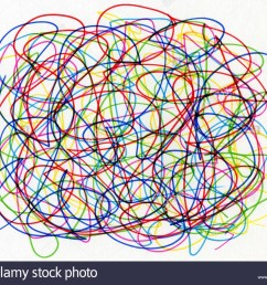 colourful felt tip pen scribble on white paper  [ 999 x 831 Pixel ]