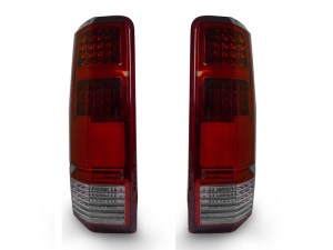 New 20072008 Dodge Nitro Euro RedClear LED Rear Tail