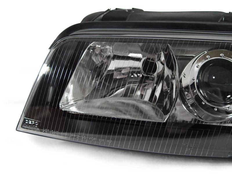 2001 Audi A4 Headlight Bulb Size