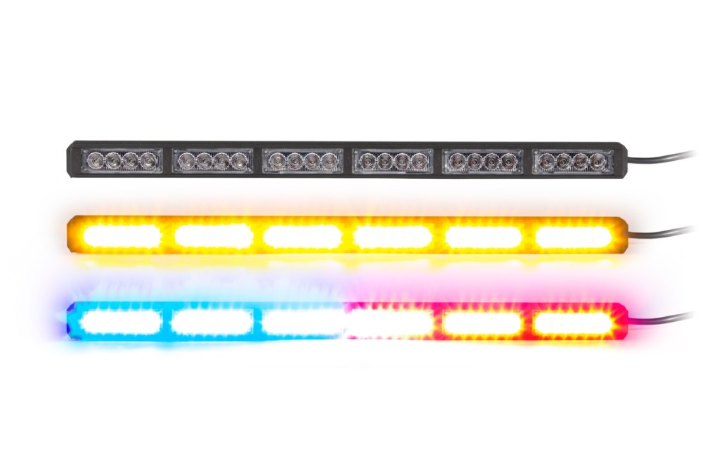 medium resolution of 1500571442 striker 6 multicolor 6 head led traffic advisor directional traffic advisor light bars damega light bar wiring diagram