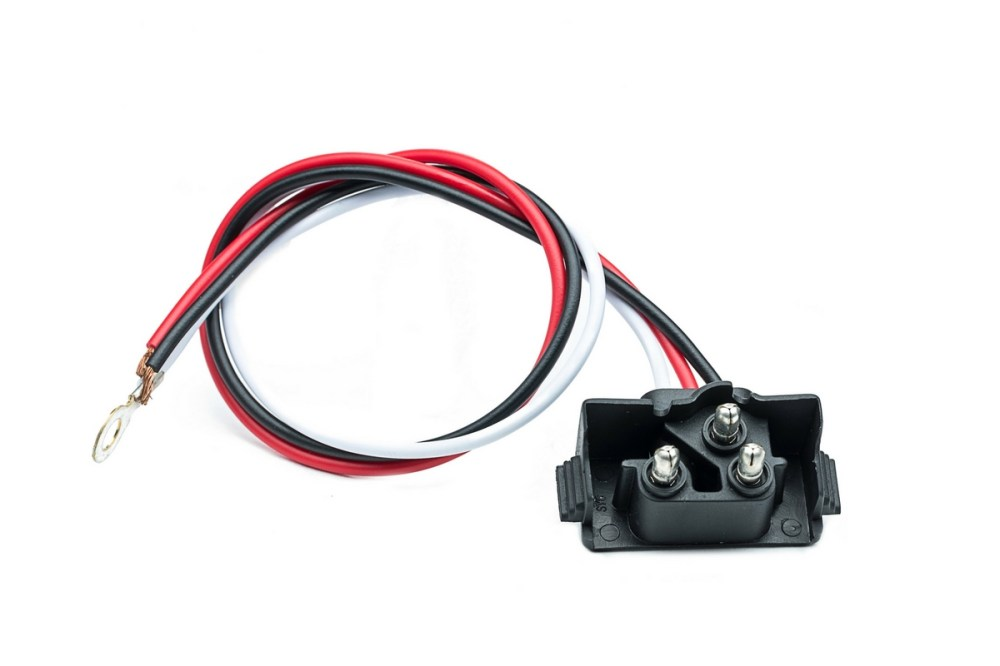 medium resolution of 3 wire truck and trailer reverse light right angle plug